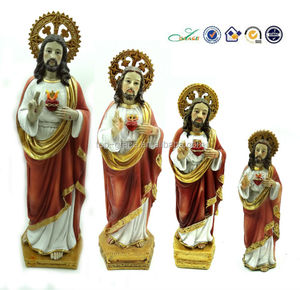 resin figurine in different size S H Jesus religious souvenir