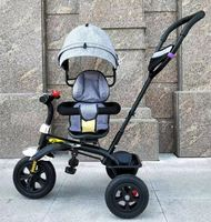 360 degree rotary model baby tricycle/Likeyou factory directly supply cheap tricycle baby/2019 new children trikes for sale