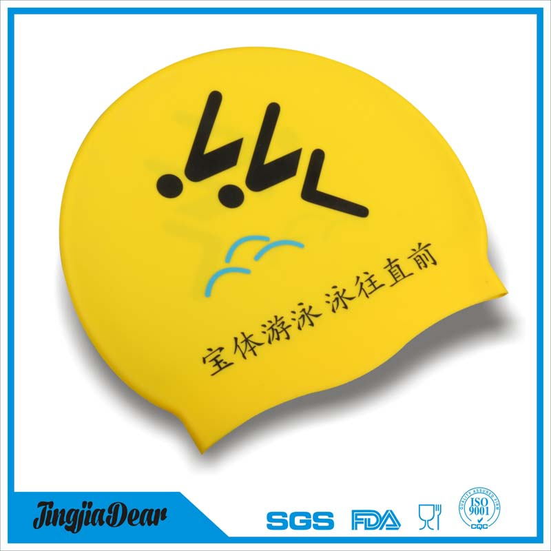 Silicone best swim cap,lycra swim cap,swim cap that keeps hair dry