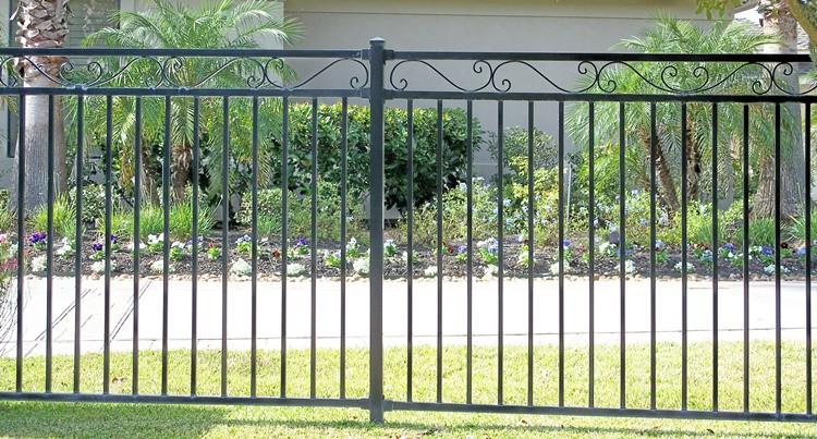 Hekwerk Tuin Metaal : Shengwei kleine tuin hek hek metalen hekwerk speer top spiked hek