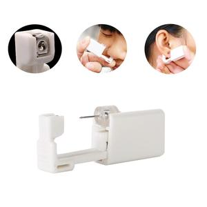 Hermosa Disposable Safety Earring Gun Piercing Second Generation 1/100 With Moment Tool With Ear Stud Pierce Kit