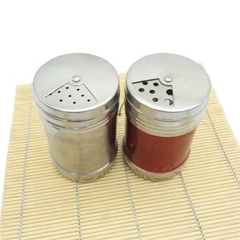 Cheap Round Stainless Steel House Salt Pepper Spice Shaker Bottle