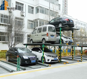 Mechanical DaYang Pit-Lifting smart car parking system