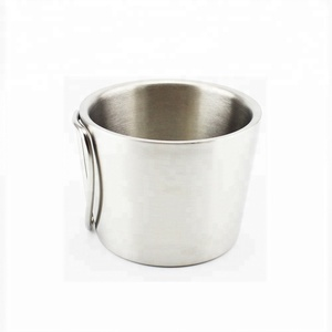 350ml Stainless Steel Coffee Beer Drinking Double Wall Portable Outdoor Camping Mug