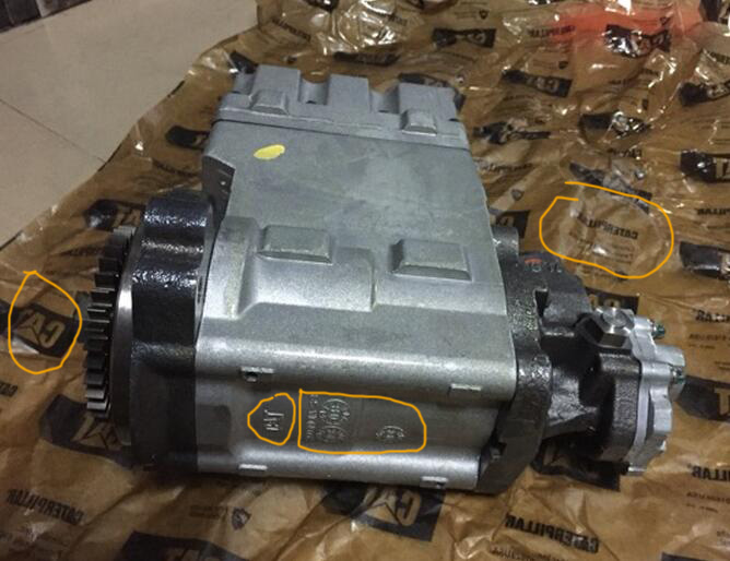 OEM 319-0678 Injection Hydraulic Pump Engine Fuel Injection Pump for CAT D6T
