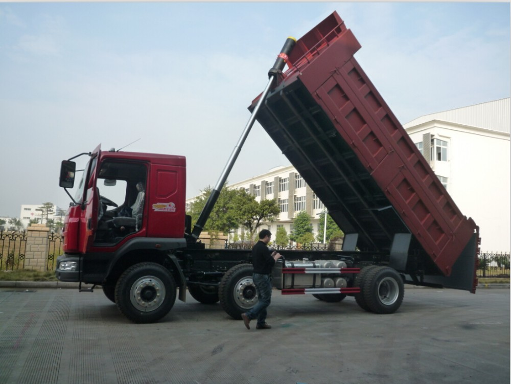 Hydraulic Dump Cylinders : Telescopic hydraulic cylinder manufacturer for dump truck
