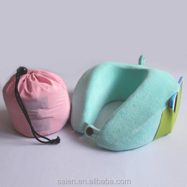 shenzhen cheap pu japanese neck pillows