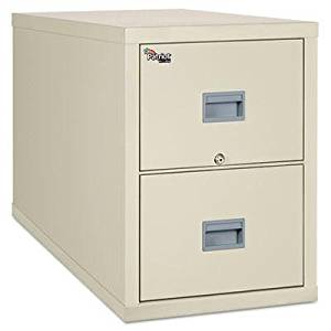 """Fireking - Patriot Insulated Two-Drawer Fire File 20-3/4W X 31-5/8D X 27-3/4H Parchment """"Product Category: Office Furniture/File & Storage Cabinets"""""""