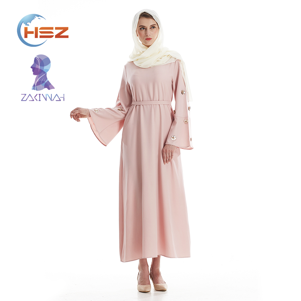 Zakiyyah 7006 Muslimah Fashion Semplice Fancy Dress