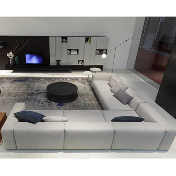 l shaped living room furniture modern italian style living room furniture l shaped fabric 18973