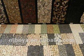 Mozaiek Matten Badkamer : Natuurlijke rivier rock mozaïek kiezel badkamer mat buy badkamer