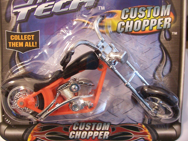 Street Tech Custom Chopper ~ Black and Orange
