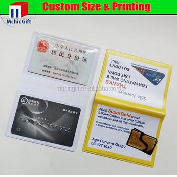 Custom Print Welding Plastic Business Card Case Card Holder Buy