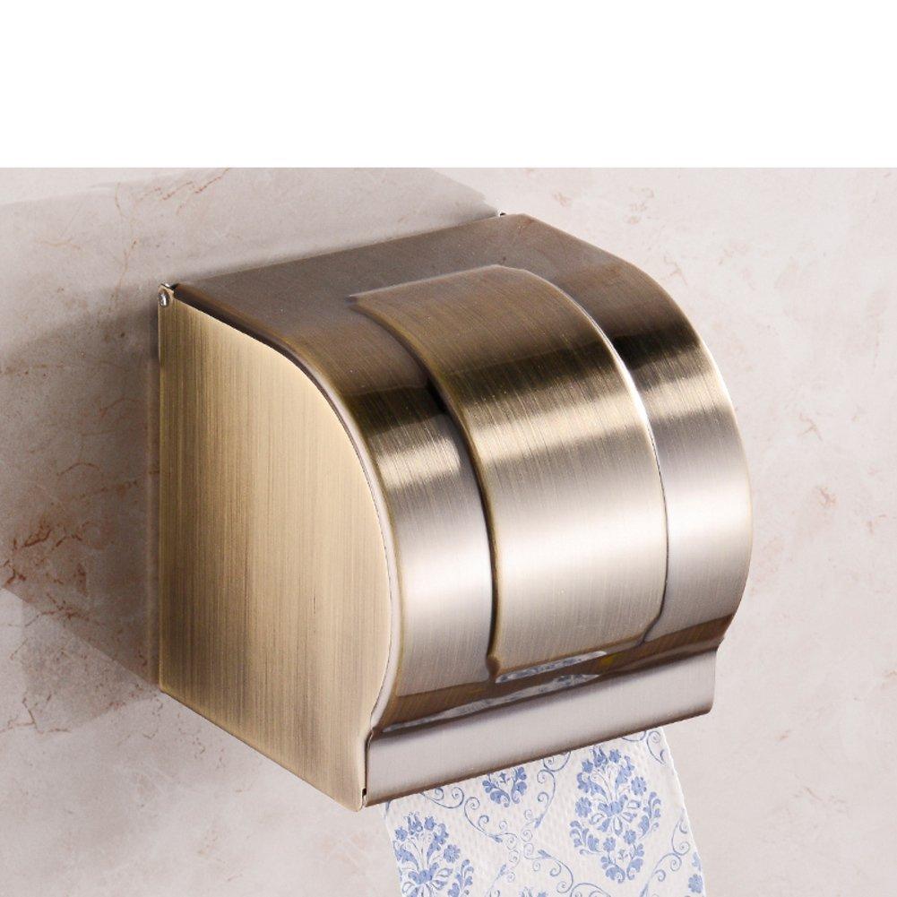 Stainless steel toilet tissue box/ toilet tissue paper holder/Box/Waterproof toilet paper box/ toilet roll holder-J