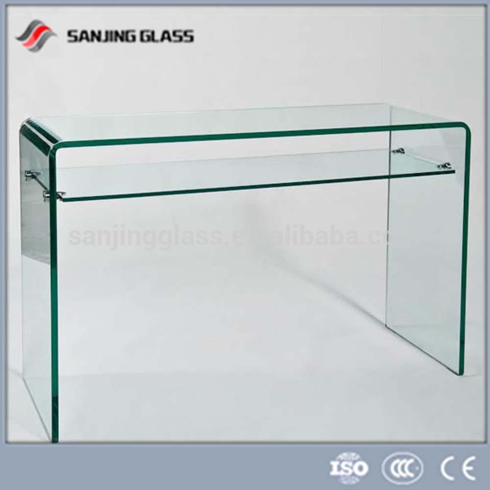 Bureau en verre tremp verre de construction id de produit - Bureau en verre trempe ...