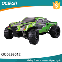 Colorful shape 2.4G mountain racing off road rc car with scale 1:18