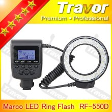 Hot selling RF-550 series for canon nikon sony olympus led camera macro flash
