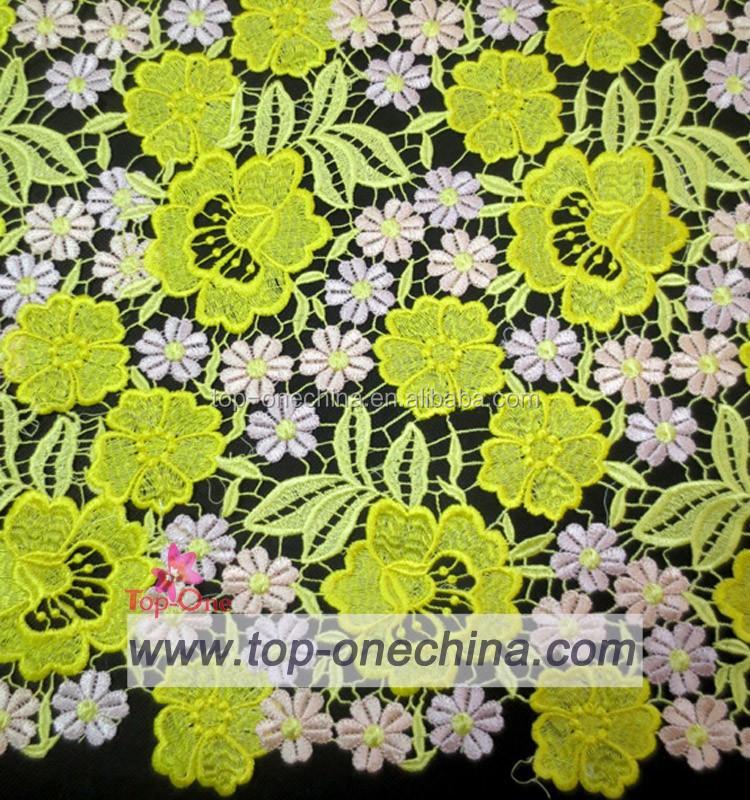 2015 Guipure Lace Fabrics Indonesia Women Dress Lace