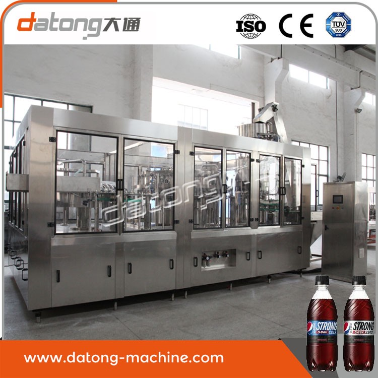 Factory Supplier cheap carbonated drink washing filling &amp capping machine with CE certificate