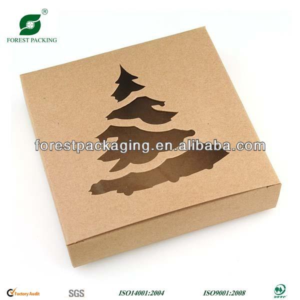 Arbol de navidad caja de cart n fr110877 embalaje cajas - Cajas de carton de navidad ...