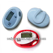 Portable flip free step distance in KM/Mile calorie counter