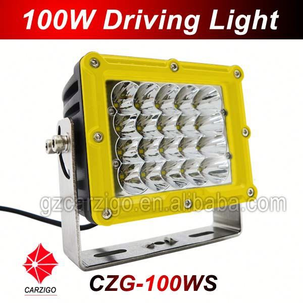 3 years warranty extreme bright accessories for 4x4 ATV made in Guangdong 100w LED driving light