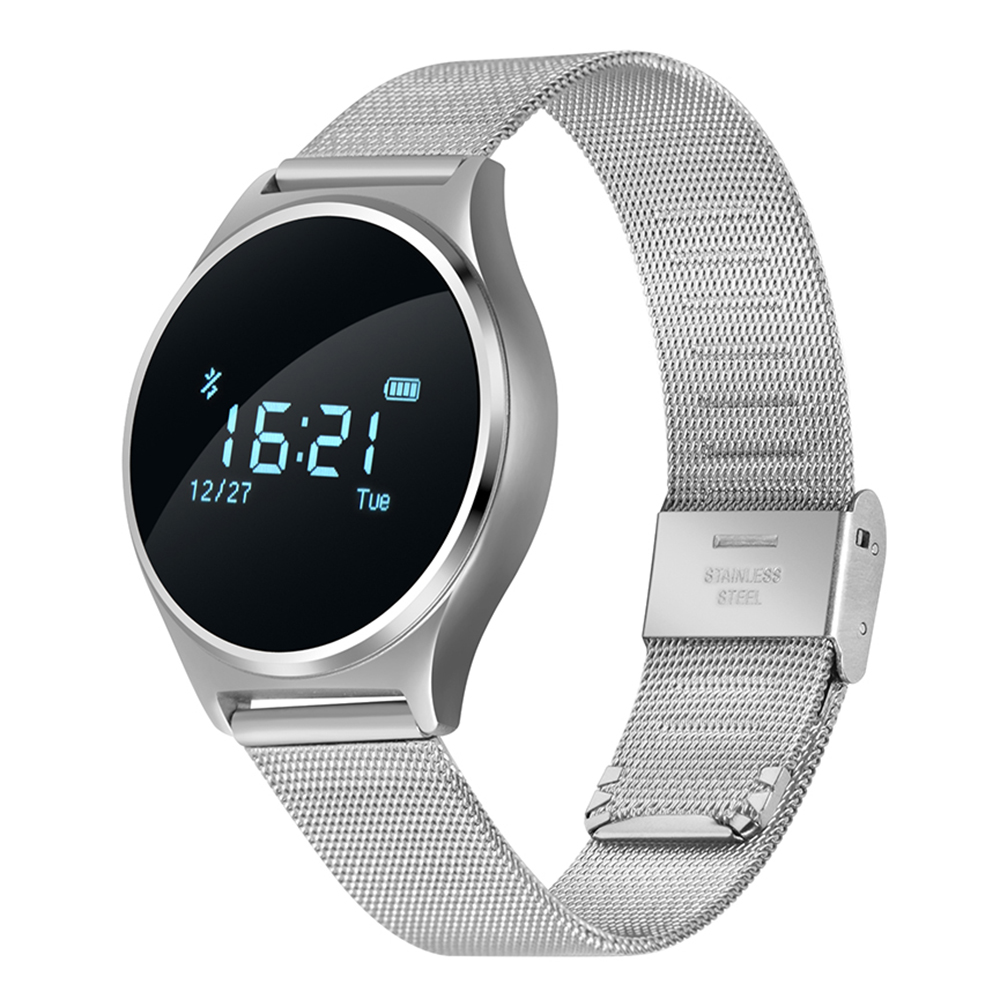 Hot Fashion M7 Round Bluetooth Blood Pressure Heart Rate Monitor Sport Smart Watch