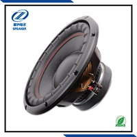12 inch car audio system subwoofer box design, woofer speakers for car