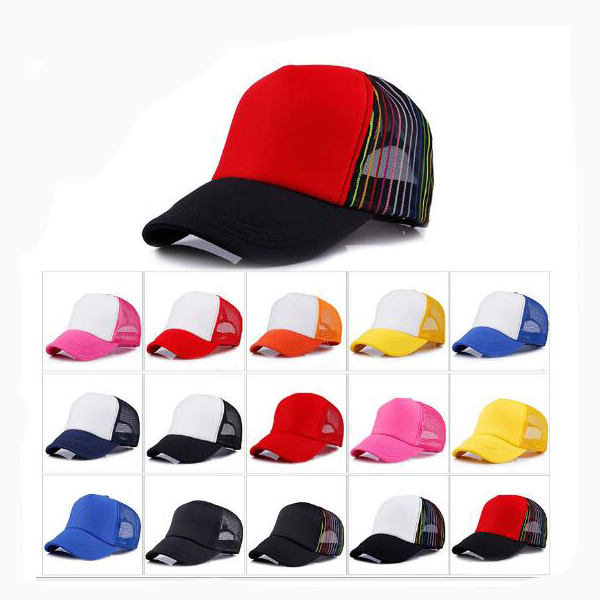 2016 OEM custom many colors hiphop 5 panel plain foam mesh <strong>caps</strong>/blank trucker <strong>caps</strong>