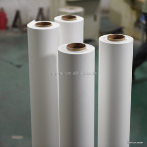 Quick Dry Anti-curl High Speed Printing 100gsm 64'' Roll Dye Sublimation Paper For textile printing