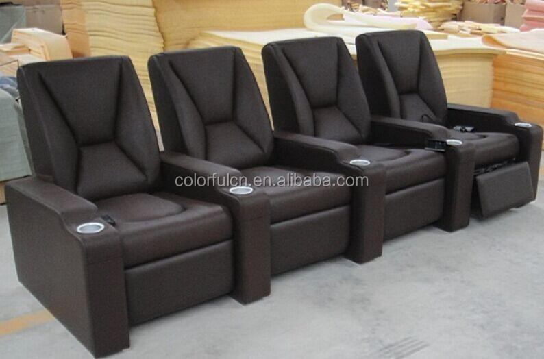 v ritable cuir home cinema si ges home cin ma de si ge. Black Bedroom Furniture Sets. Home Design Ideas