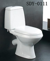 Hot sale in Russia washdown toilet bowl bathroom two piece Ukraine toilet