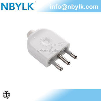 Household Appliance High Standard Italy Plug Italian Male Rewirable ...