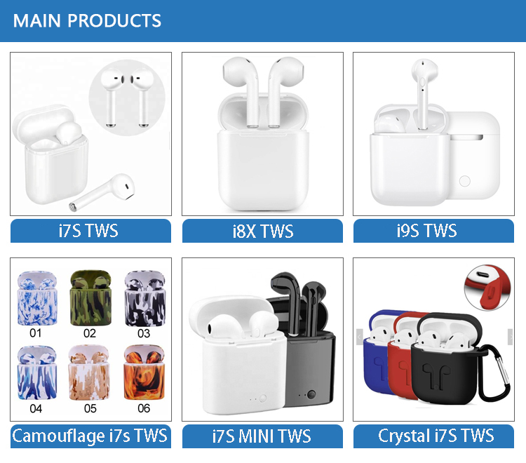 I9S Mini Tws Bluetooths Earbuds Headphones Bluetooths 5.0