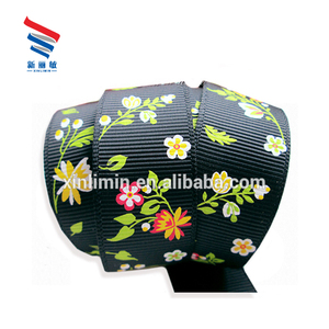High quality factory price flower satin roll ribbon and bow for garment