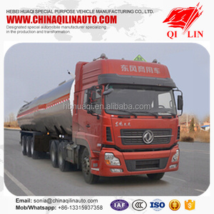 Tank Semi Trailer For Acetic Acid Transportation