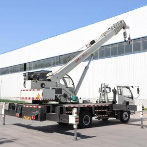 Truck Mounted Crane Mobile Crane Truck 8 T USED CRANE