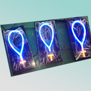wholesale 30X15X2.5cm lighted led flash cross