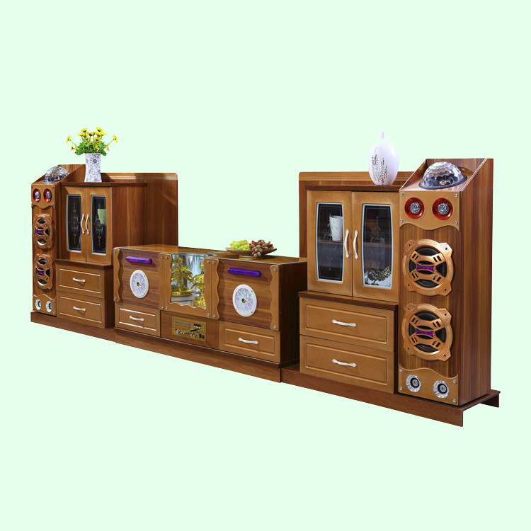 NEW smart Bluetooth wireless connection lcd tv cabinet showcase design