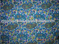 Close fitting printing shirt spun rayon fabic 32X32 62X58 35/65""