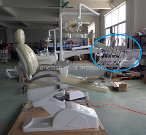 LED screen portable Up/downstyle dental chair unit with endoscope/ dental chair spare parts manufacturer DC21