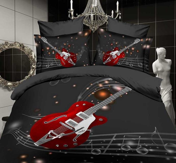 online kaufen gro handel gitarre bett sets aus china gitarre bett sets gro h ndler. Black Bedroom Furniture Sets. Home Design Ideas