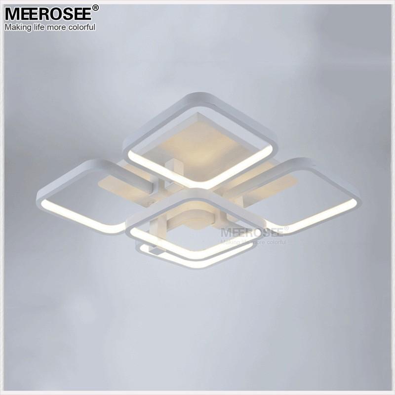Modern Interior Led Ceiling Chandelier Flush Lighting For Low ...