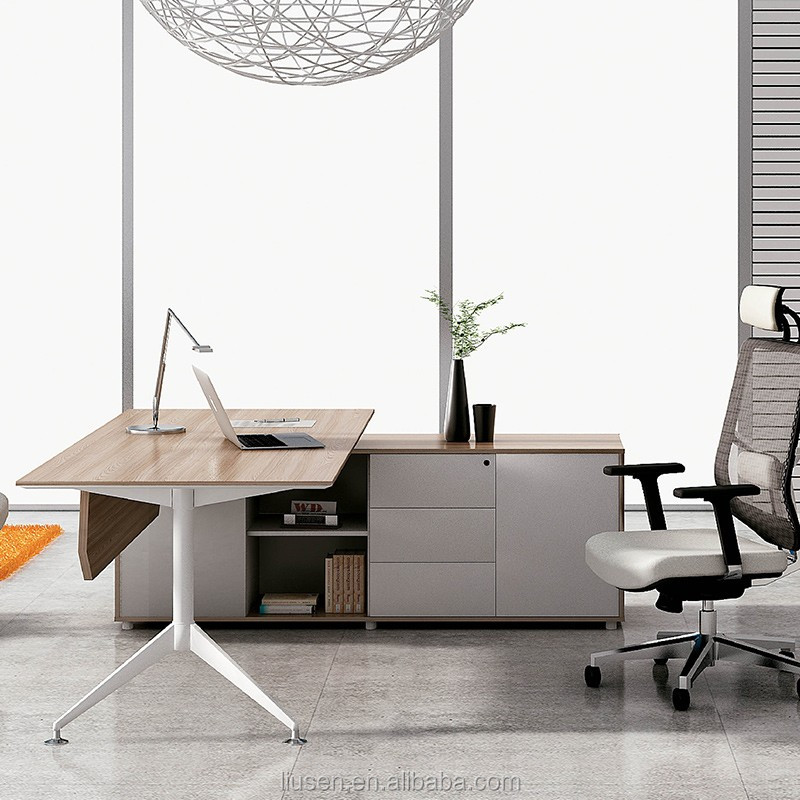 Cheap Office Furniture Supply Melamine Modern Office
