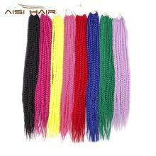 AISI HAIR cheap wholesale nubian twist hair crochet braid hair extensions braiding for black women