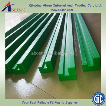 Uhmwpe/hdpe Conveyor Chain Guides/uhmwpe Guide Rail/plastic Wear Resistant  - Buy Uhmw Linear Chain Guide Rails/uhmwpe Track Rails,Polyethylene Guide
