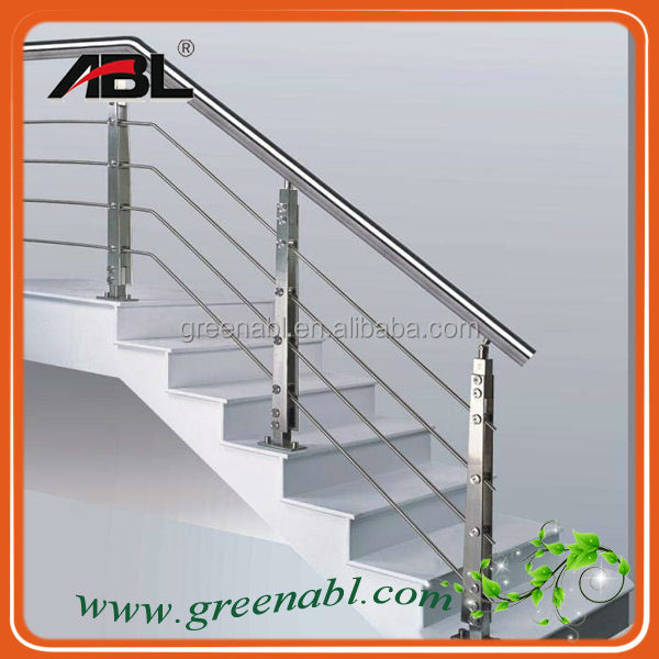 Abl Ss304 Stainless Steel Design Stair Railing Post Metal