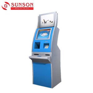 Airport Self Service Ticket Printing Kiosk / Check-in and Boarding Card Printing Kiosk
