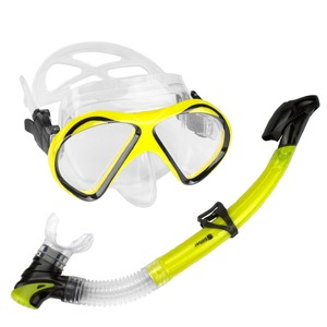 Professional dive mask snorkeling set/mask and snorkel set/diving set