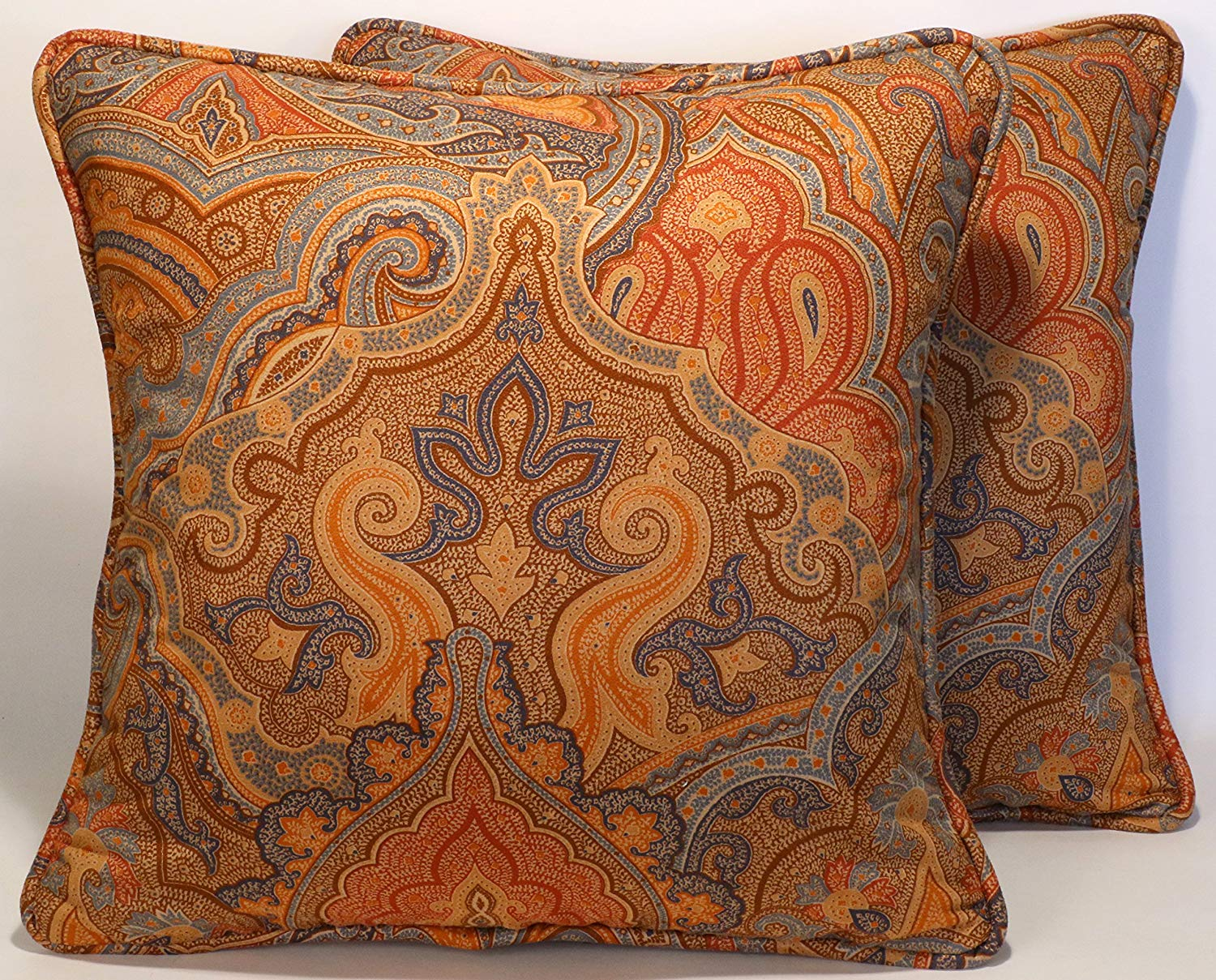 Cheap Blue And Brown Decorative Pillows Find Blue And Brown